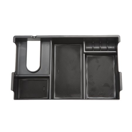 Armrest Storage Box Tray Organizer Center Console Container Car Accessory for Toyota Tundra 2014-2018 - image 2 de 7