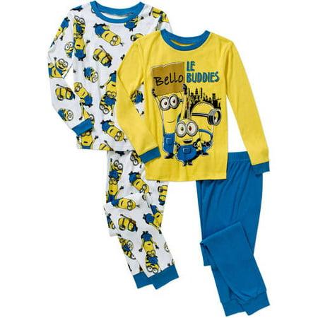 Superhero Jersey Sleep Pant (Little Boys & Big Boys)](Minion Outfits)