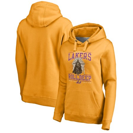 Los Angeles Lakers Fanatics Branded Women's Star Wars Roll Deep with the Empire Pullover Hoodie -