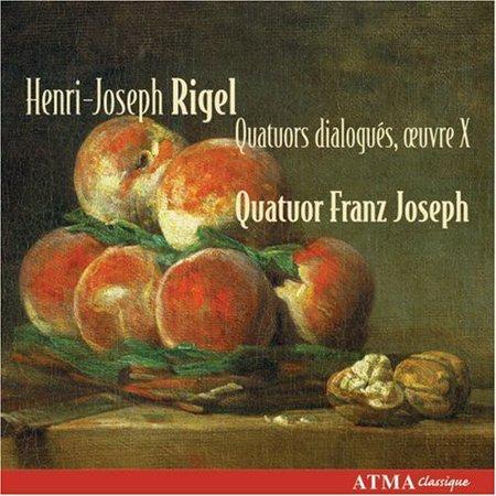 Henri Joseph Rigel   Henri Joseph Rigel  Quatuors Dialogu S  Oeuvre X  Cd