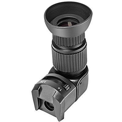 0.72 Viewfinder (neewer 1x/3.2x magnification right angle viewfinder with 5 mounting adapters for dslr camera such as canon,nikon,pentax,minolta,dynax,samsung,olympus )
