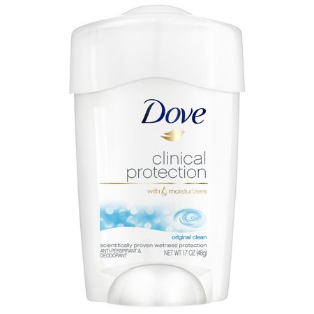 Dove Clinical Protection Original Clean Antiperspirant 1.7 oz Dove Moisturizing Anti Perspirant