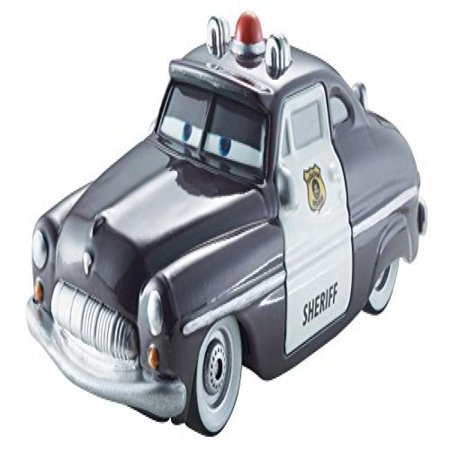 Disney/Pixar Cars Color Change 1:55 Scale Vehicle Sheriff (Disney Color Changing Cars)