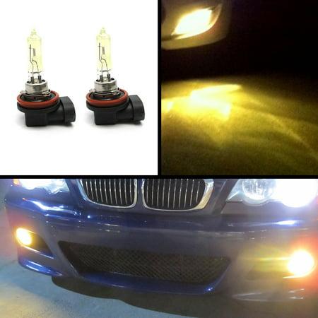 H11 JDM Rainbow Yellow 3000k Halogen Gas Fog Lights Bulbs Driving