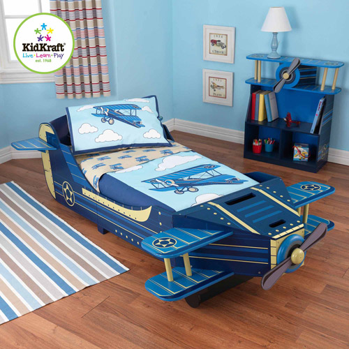 Attrayant KidKraft Airplane Toddler Bedroom Collection
