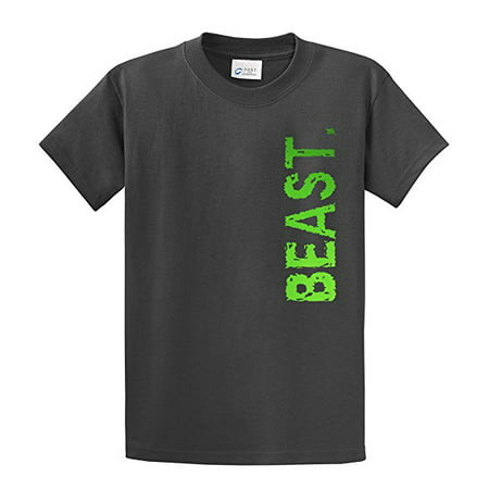 Youth Soccer T-Shirt Beast In Neon Green Sports