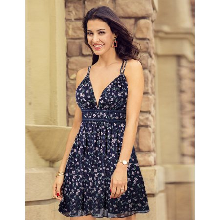 8c84f51d761 Ever-Pretty - Ever-Pretty Women s Floral Printed Sleeveless Sexy Short  Summer Holiday Party Casual Beach Sun Dresses for Women 5742 US 6 -  Walmart.com