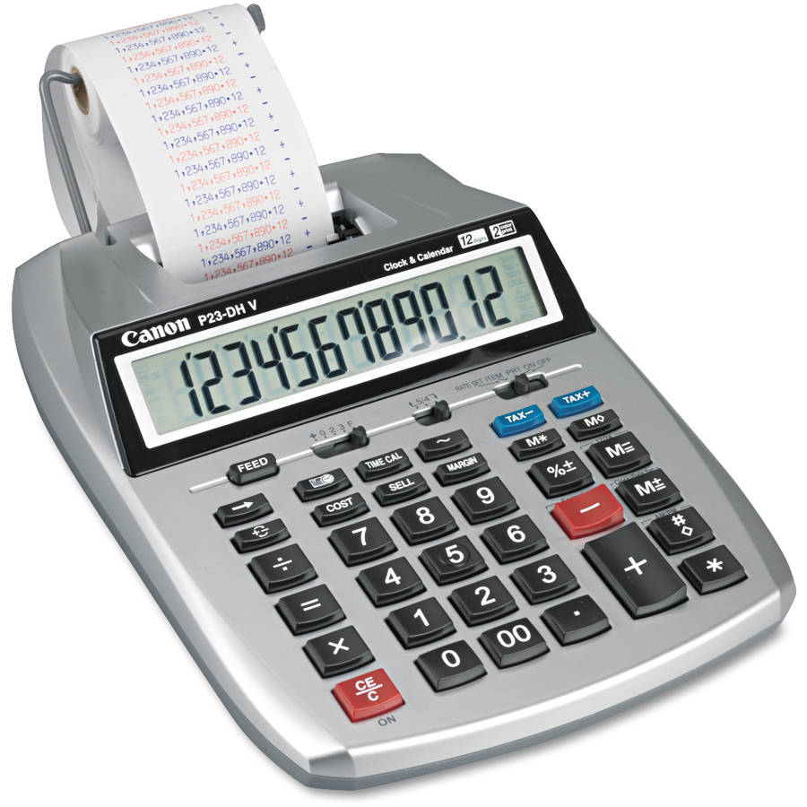 Canon P23-DHV2 Desktop Calculator
