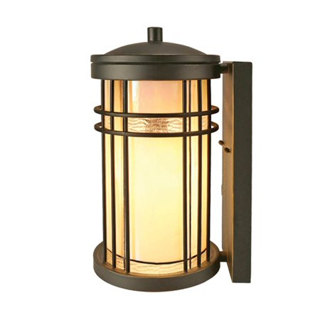 Wall Sconce DALE TIFFANY DIJON Rectangular Backing Plate Round Shade 1-L (Dale Tiffany Garden)