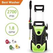HOMDOX Max 3550PSI Electric High Pressure Washer Spray Gun Cleaning Machine,2.05 GPM 1800W