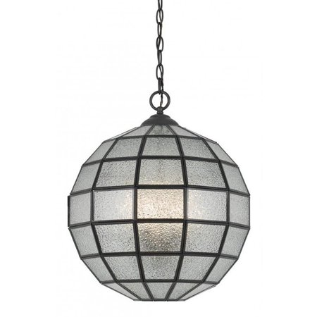 - Cal Lighting Glass Chandelier in Crystal