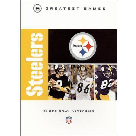 Nfl Greatest Games Series  Pittsburgh Steelers Super Bowls