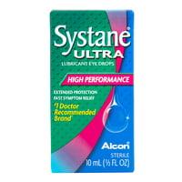 SYSTANE ULTRA Lubricant Eye Drops for Dry Eye Symptoms, 10mL