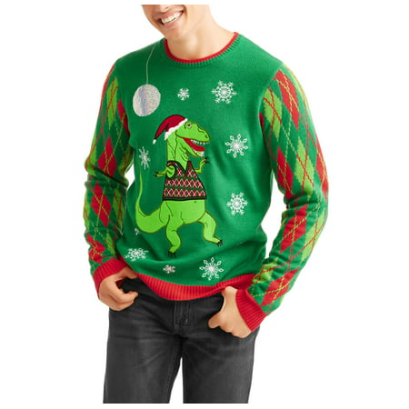 T Rex Ugly Christmas Sweater.T Rex Sweater Vest Men S Ugly Christmas Sweater