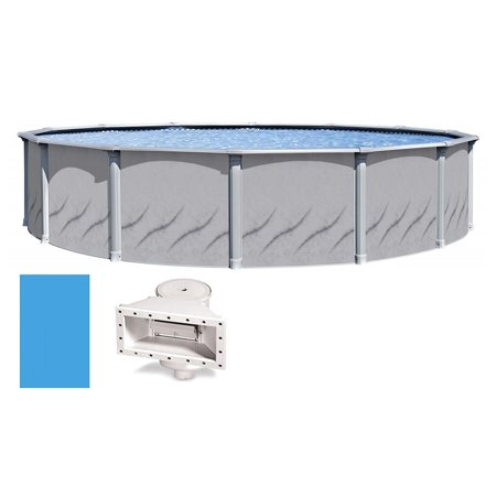 """Galeria Round Above-Ground Swimming Pool   52"""" Height {Choose Size}"""