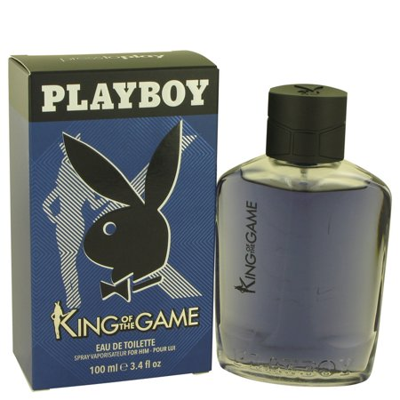 Playboy Playboy King of The Game Eau De Toilette Spray for Men 3.4 oz - Playboy Thanksgiving