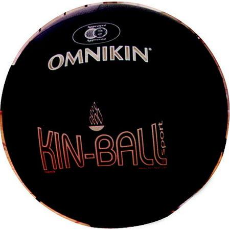 "Omnikin Nylon Light-Weight Kin-Ball Sport Ball with Bladder, 48"", Multiple Colors, 2 lb"
