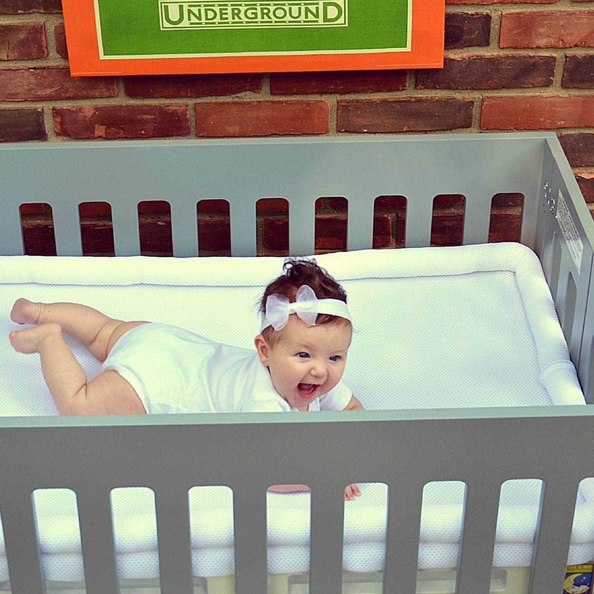 secure crib sent ideas a princes and safesleep mattress breathable princess heaven cribs mattresses beginnings