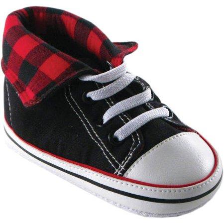 Newborn Baby Boys Fold-Down Hi-Top Sneakerss - Boys High Top Converse
