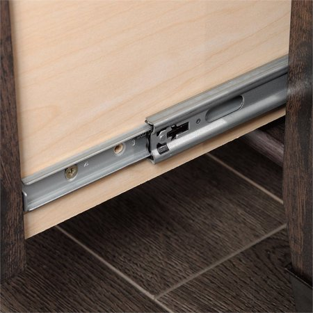 Sauder Carson Forge Computer Desk in Coffee Oak - image 17 de 18