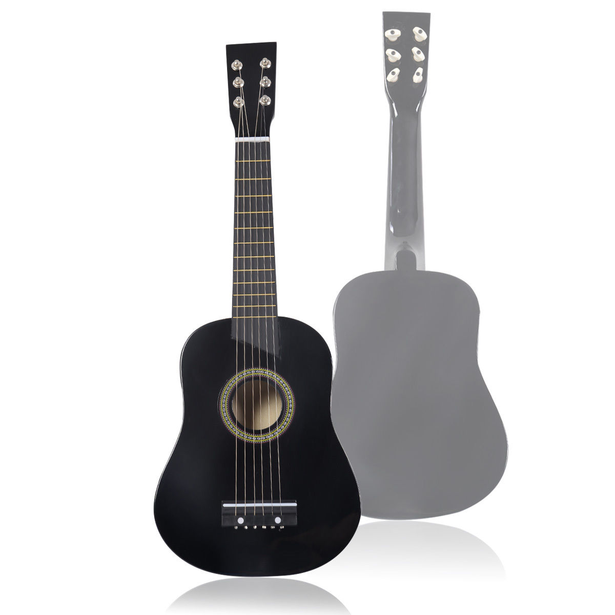 25''Beginners Kids Acoustic Guitar 6 String with Pick Children Kids Gift by Costway