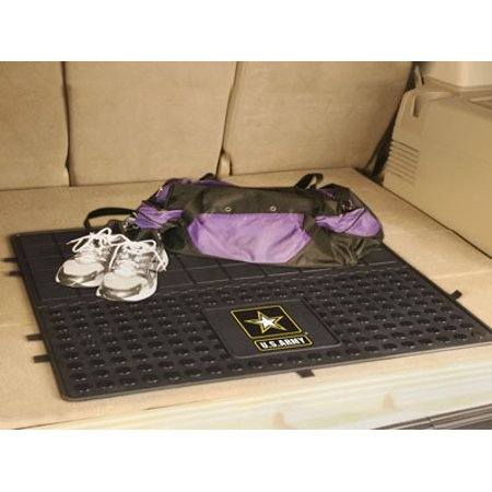 11037 Fanmats U S  Army Vinyl Cargo Mat 31In X 31In Virginia Mil Non Skid Mat Made In Usa Machine Washable