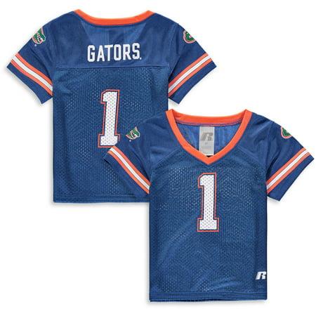 buy online acf44 47e39 Toddler Russell Royal Florida Gators Replica Football Jersey