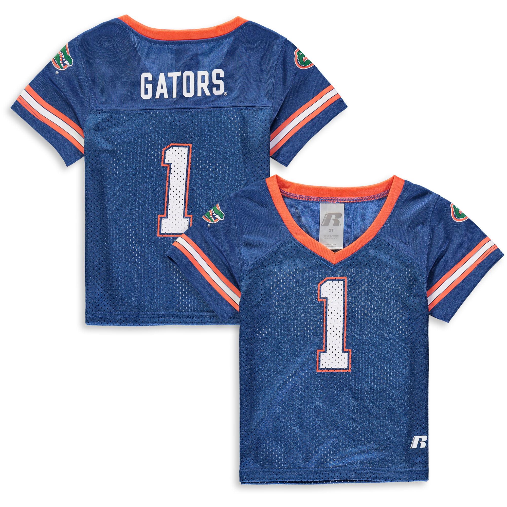 Toddler Russell Royal Florida Gators Replica Football Jersey
