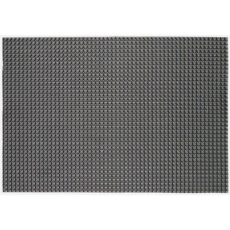 Ritz Textilene 4x4 Basketweave Placemat multicolor Gold Silver Black ()