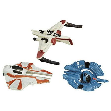 Star Wars Episode III Micro Machines 3-Pack Clone Fighter