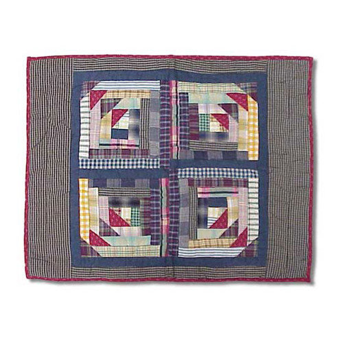 Patch Magic Wild Goose Log Cabin Pillow Sham