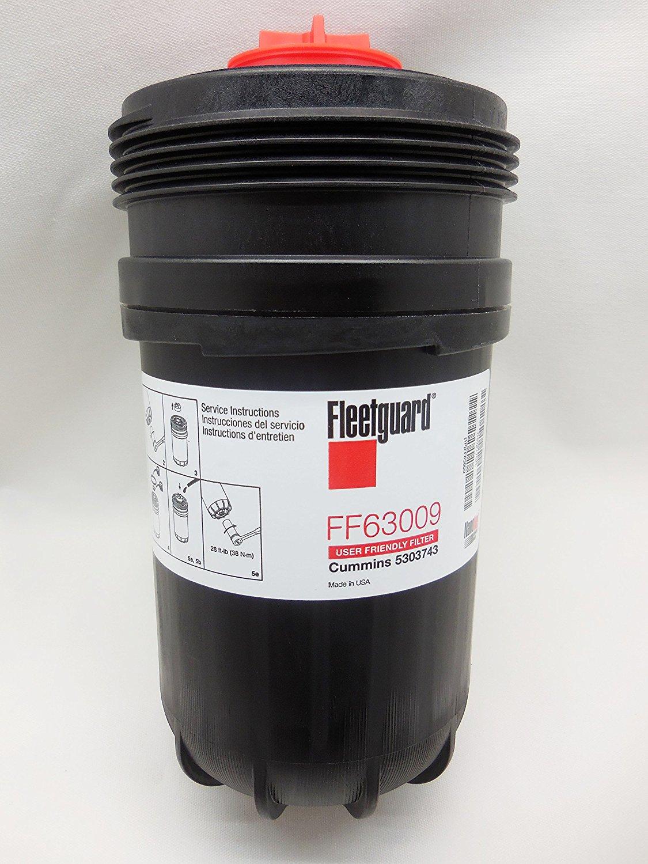 Fleetguard Ff63009 Cummins 5303743 Fuel Filter 7 3 Diagram