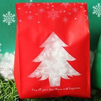 Fancyleo 50pcs/set Christmas Paper Empty Bags Gift Sweet Candy Birthday Xmas Party Gift