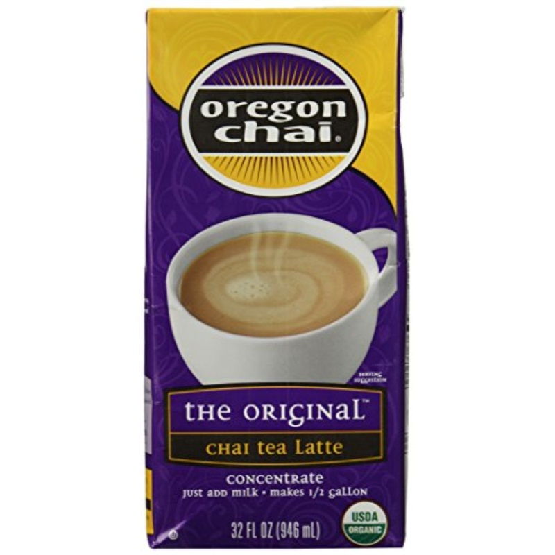Oregon Chai Chai Tea Latte Concentrate, 32 oz