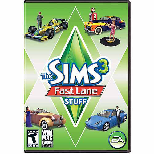 Electronic Arts Sims 3: Fast Lane Stuff Expansion Pack (Digital Code)