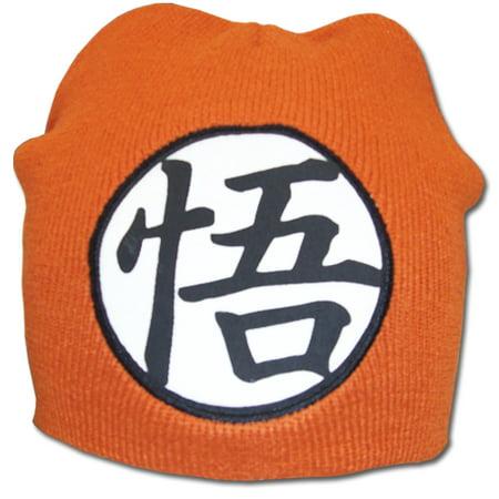 New Years Hat (Beanie Cap - Dragon Ball Z - New Goku Symbol Logo Anime Hat Licensed)
