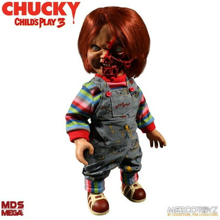 Child's Play 3 MDS Mega Talking Pizza Face Chucky](Chucky Doll)