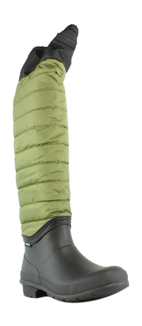 New Tretorn Womens Wtharriet Black Olive Black Fashion Boots Size 9 by Tretorn