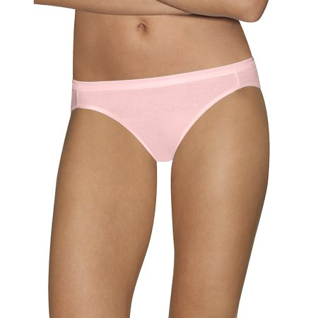 - Comfort Cotton Women's Bikini Panties 5-Pack