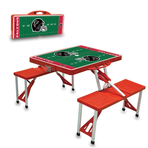 Atlanta Falcons Picnic Table - Red - No Size