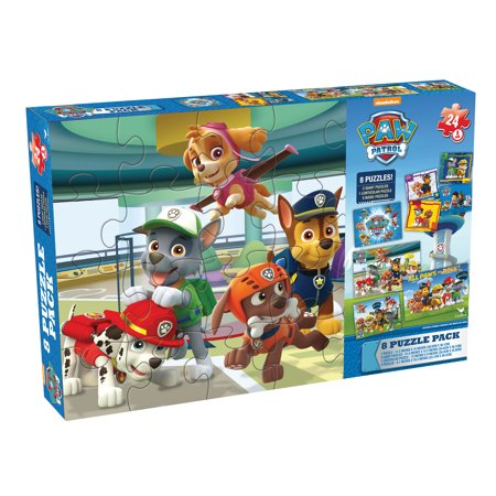 Paw Patrol - 8-Pack Puzzle - Paw Patrol Halloween Puzzle