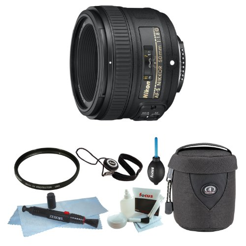 Nikon AF-S NIKKOR 50mm f/1.8G Lens with Tiffen 58mm Filte...