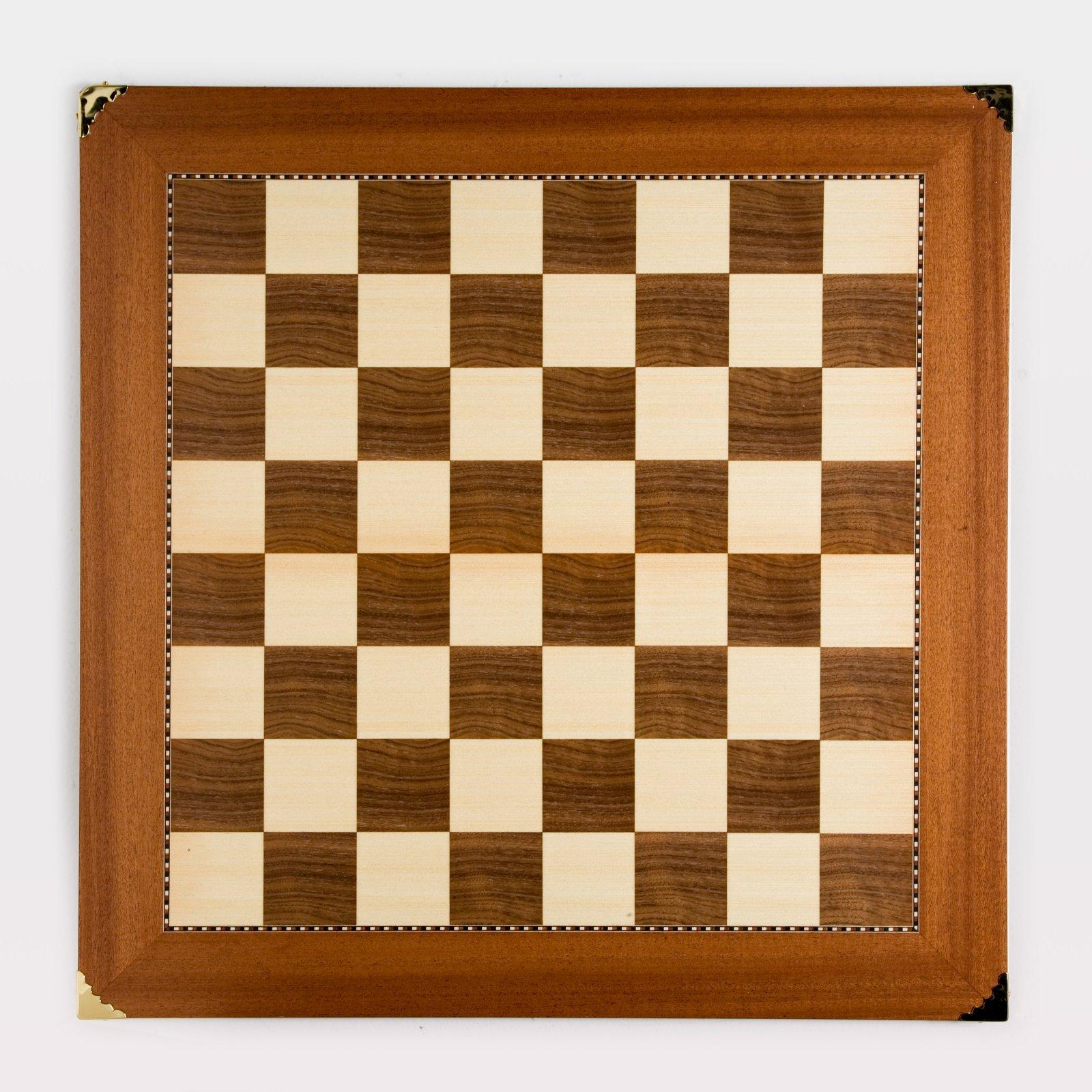 Champion Sycamore/Walnut Chess Board