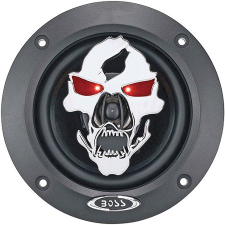 Boss Audio Sk422 Phantom Skull 2 Way  Car Speakers  1 Pair Of Speakers