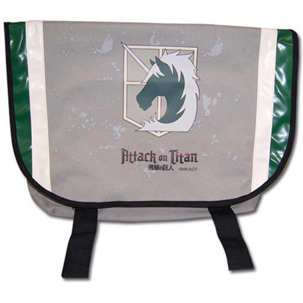 Attack On Titan Military Police Anime Messenger Bag