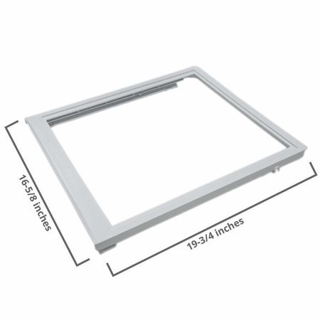 240350702 Upper Crisper Pan Cover Compatible with Frigidaire -
