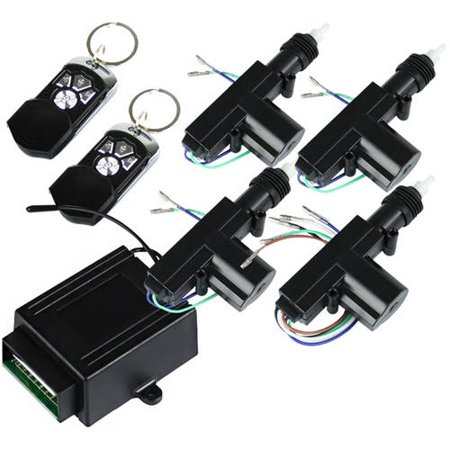 Spec-D Tuning 4 Door Power Central Lock Kit, 4 Button