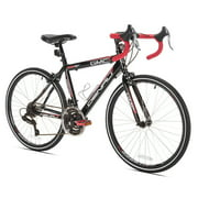 "Kent 24"" Boys GMC Denali Road Bike - 24"" Wheel - Aluminum Frame - Black, Red"
