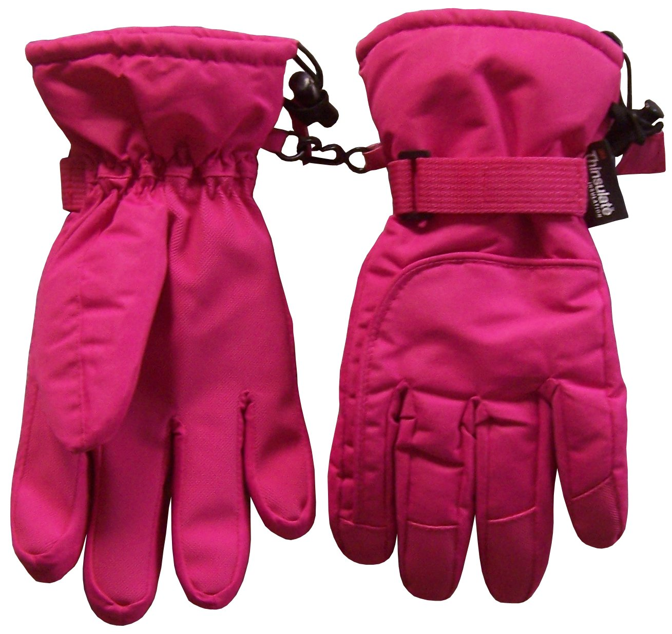 NICE CAPS Kids Extreme Cold Weather 80 Gram Thinsulate and Waterproof Ski Snow Winter Gloves - Fits Boys Girls Toddler Childrens Youth Child Sizes