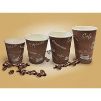 Unicup 12oz Designed PE Hot Paper Cup(1000 cups/case)